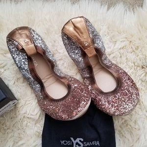 46db4d4c1d47 Yosi Samra Shoes - Yosi Samra serena ombre glitter metallic copper 9